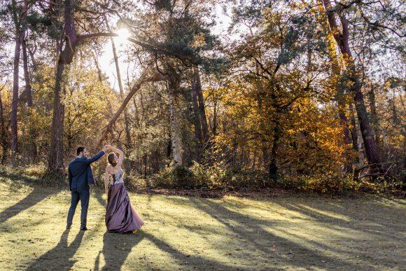 After wedding shoot